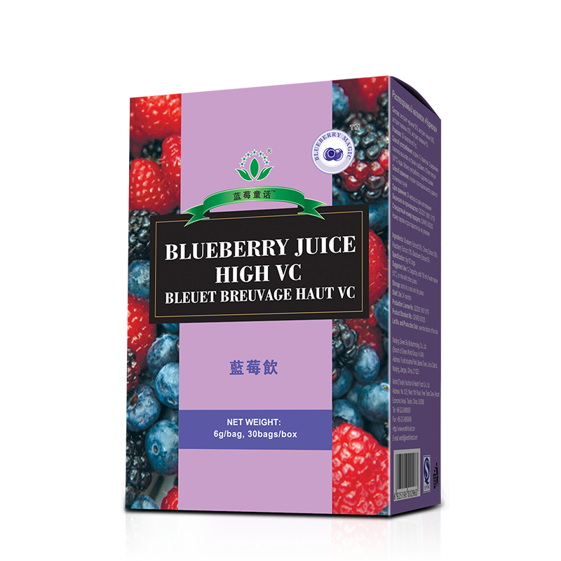 Green World Bueberry Juice