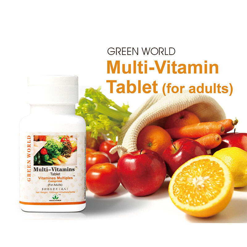 Multi-Vitamins Tablet (for Adults)