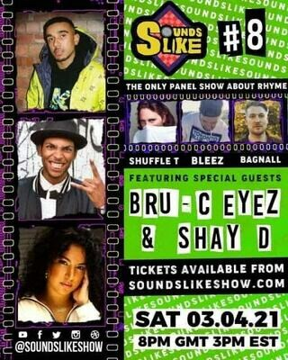 Sounds Like Episode 8 UNCUT with Eyez, Bru C and Shay D