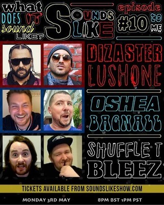 Sounds Like UNCUT episode 10 with Dizaster, Lush One and Oshea... and Cruger for a bit!