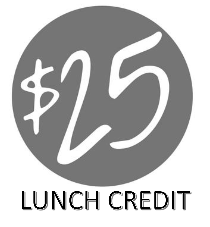 $25 Bulk lunch payment