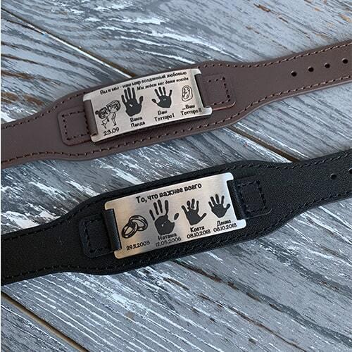 мужские браслеты. коричневый и черный