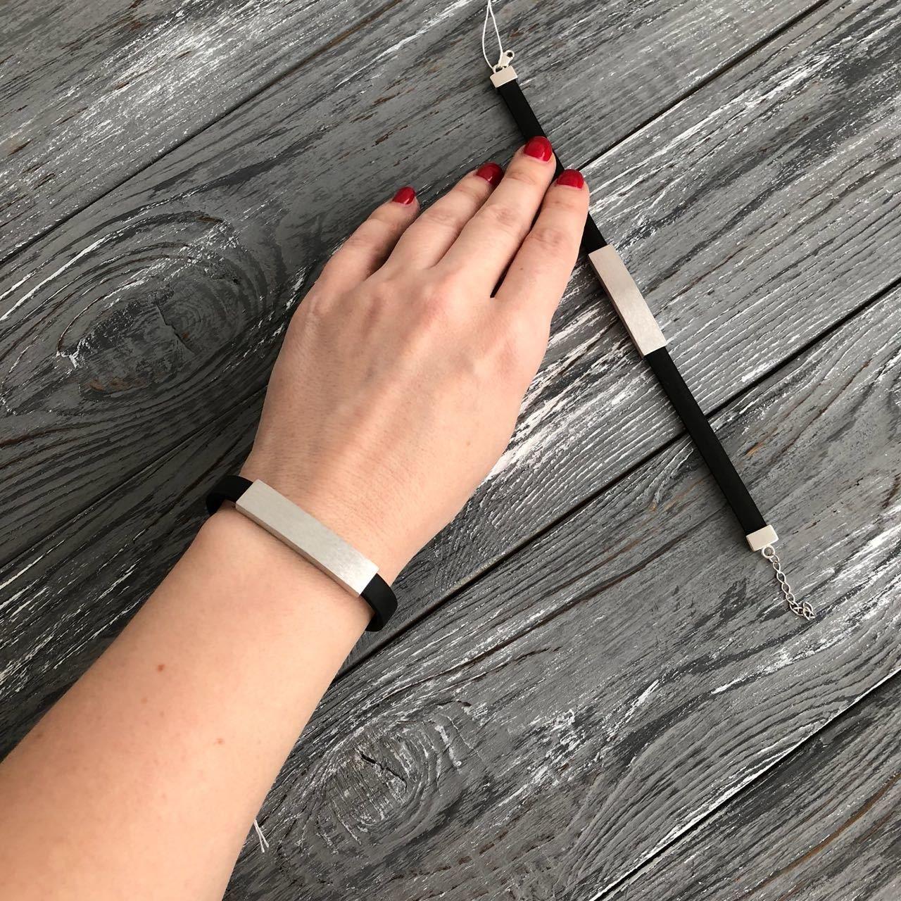 Парные браслеты Silver (серебро 925 пробы)