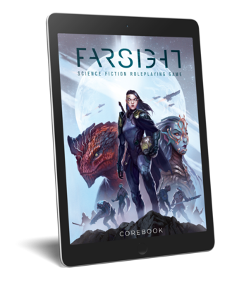 FARSIGHT RPG - Corebook (PDF) PREORDER