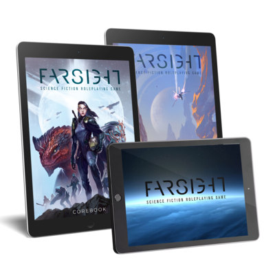 FARSIGHT RPG - Digital Bundle (PDF) PREORDER