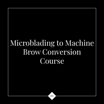 2-day Microblading to Machine Brow Conversion Course
