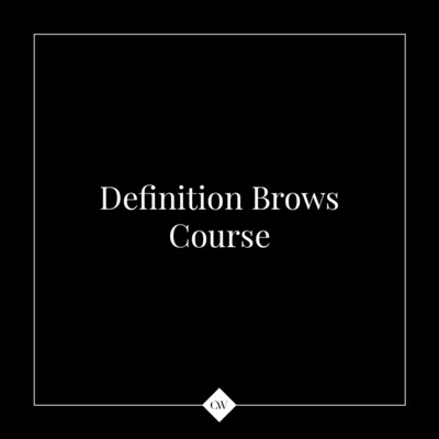 1-day Definition Brows Course