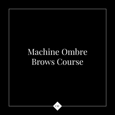 2-day Machine Ombre Brow Course