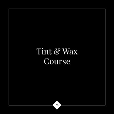 1-Day Tint & Wax Course