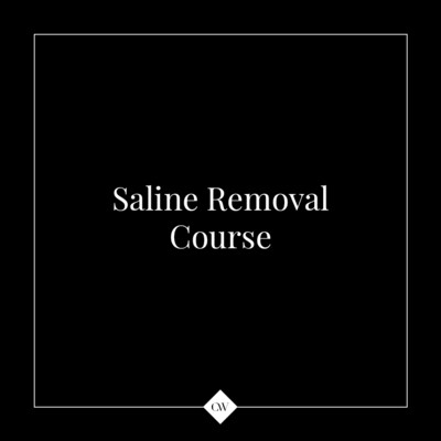 1-day Saline Removal Course