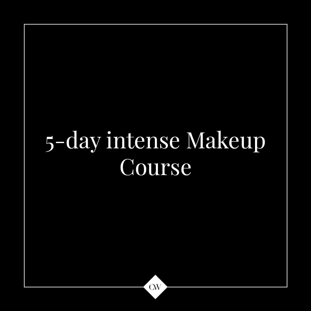 5-day 1-2-1  Intense Makeup Course