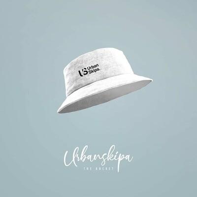 White Bucket Hat - Pearl White