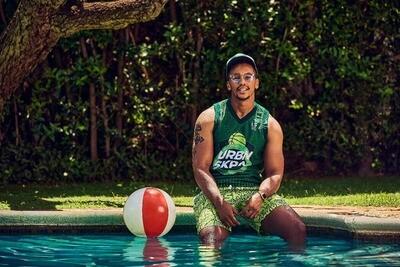 Summer Shorts - Green Envy