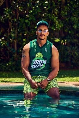 Basket Ball Vests - Green Envy