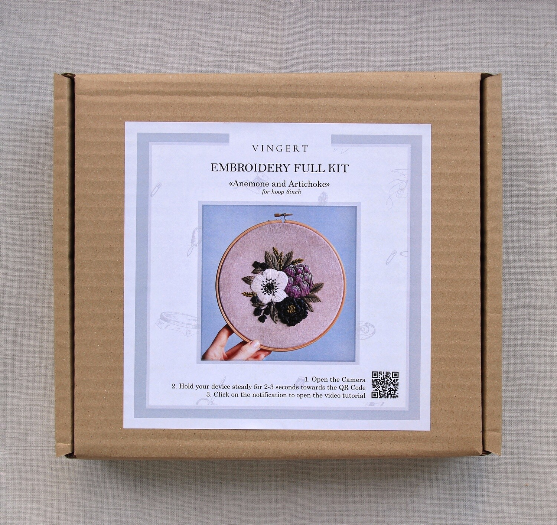 """FULL KIT """"Anemone and artichoke"""""""