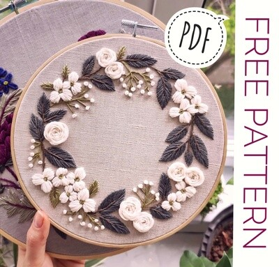 FREE Pdf pattern+ video tutorial. #001