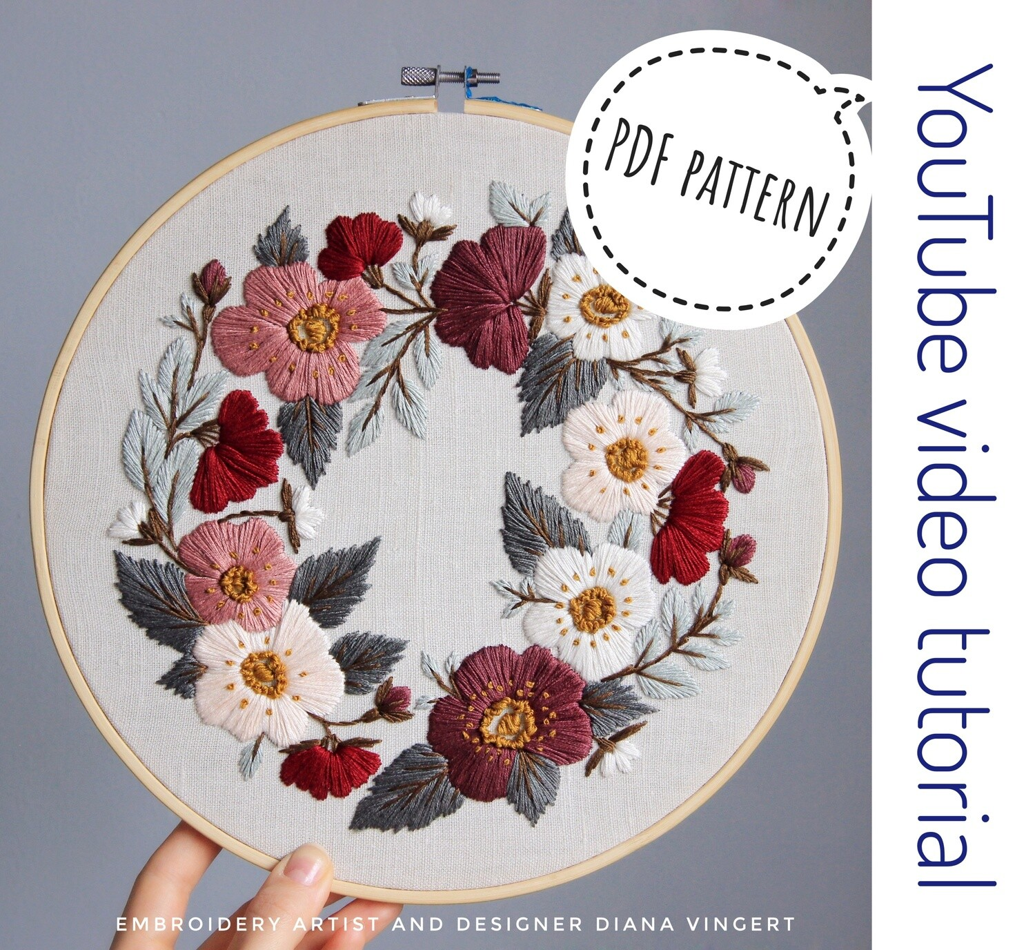 Pdf pattern+ video tutorial. Thumbelina