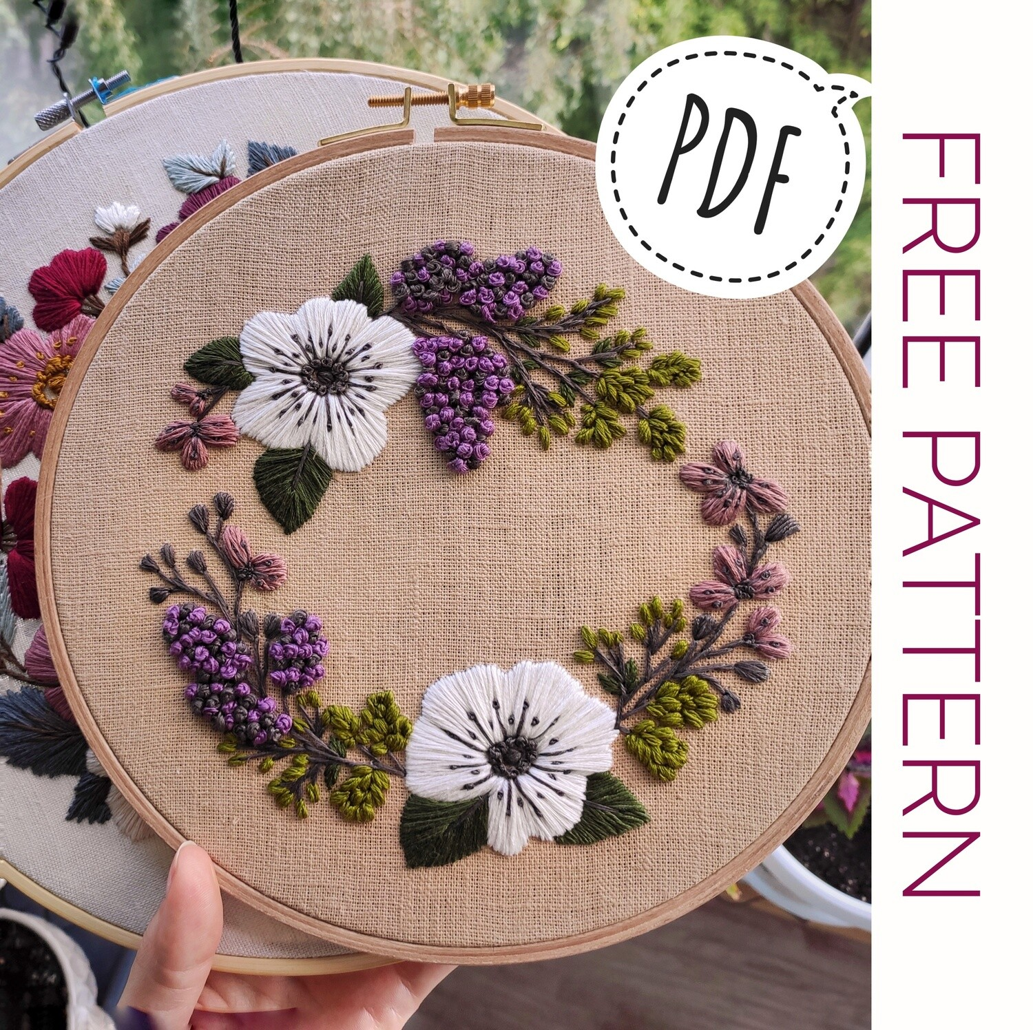 FREE Pdf pattern+ video tutorial. #002