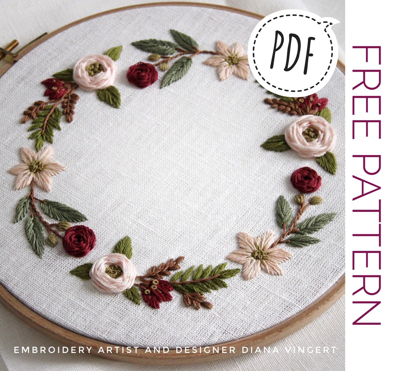 FREE Pdf pattern+ video tutorial. #003