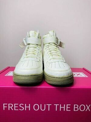 Air Force 1 Mid Olive Ivory 2017 - Size 8 M