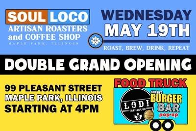 Soul Loco & Lodi Food Truck Grand Opening 4PM