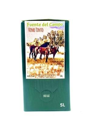 Fuente del Campo BAG IN BOX 5 LITROS Tinto Tempranillo