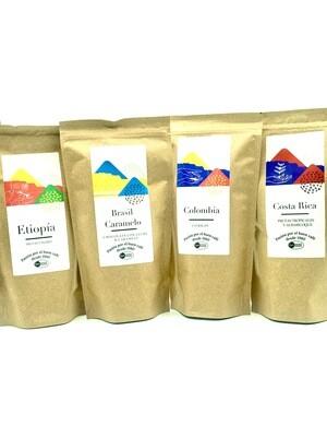 Café especialidades Sierra de Segura Pack 4