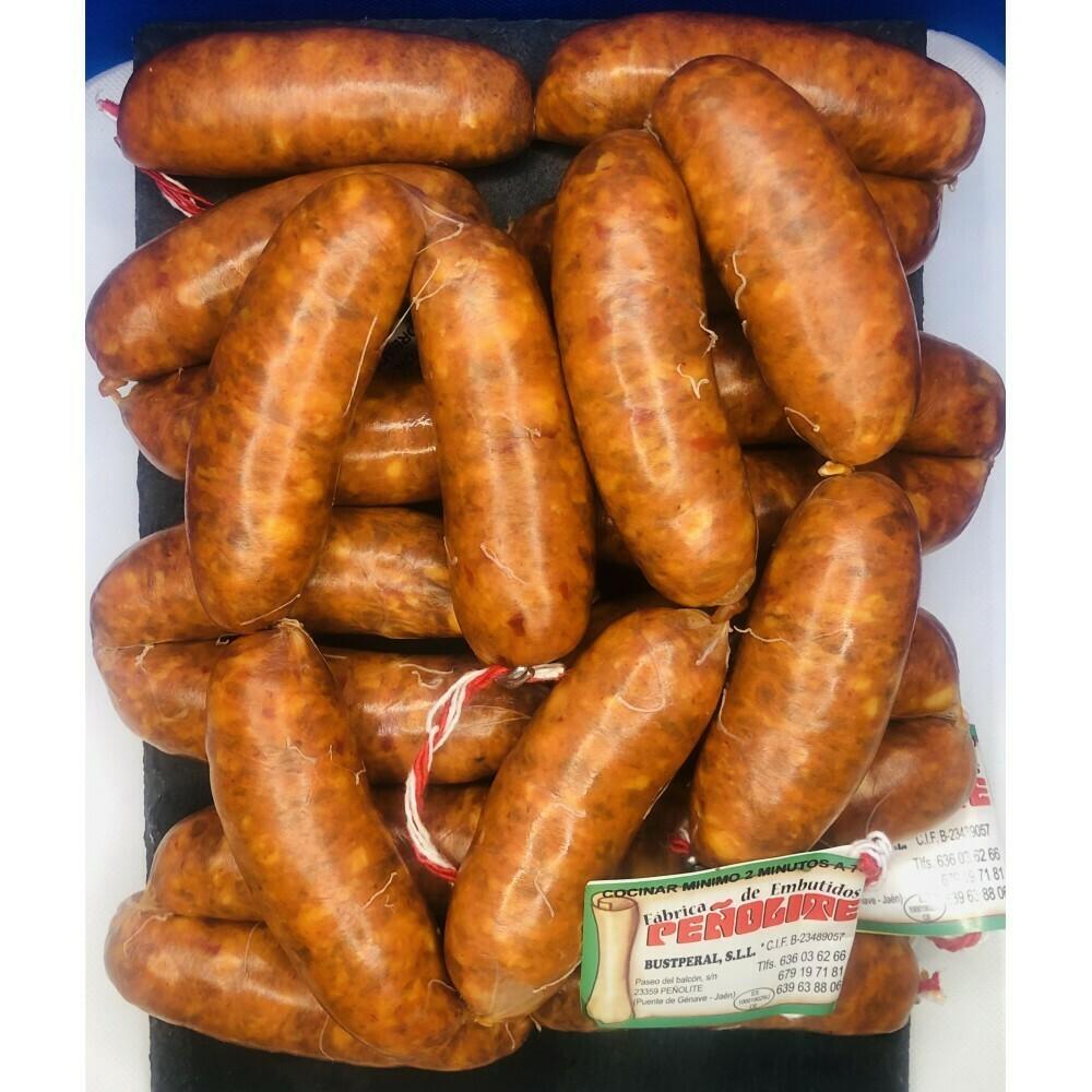 Chorizos Artesanos Peñolite 1 Kilo aprox