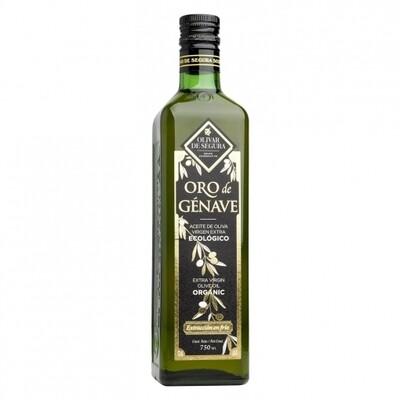 Aceite de Oliva Virgen Extra Ecológico Oro de Génave 750ml