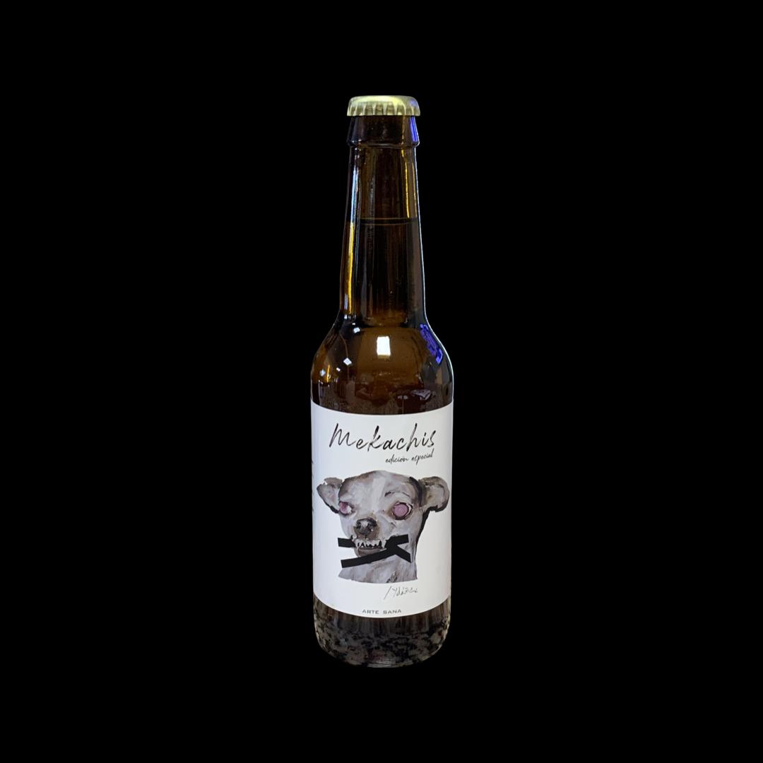 Cerveza artesana Mekachis Beer Sierra de Segura