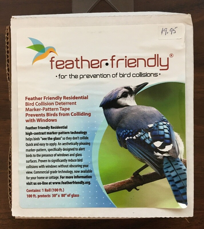 Feather Friendly Window Dots