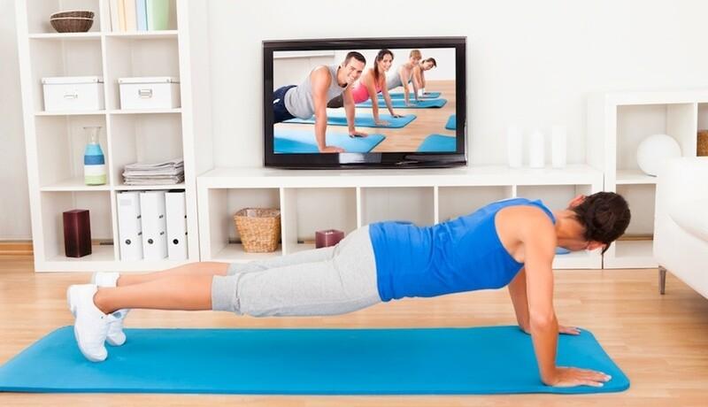 1 lezione di fitness online