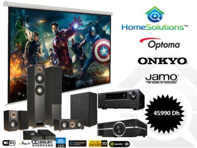 Pack Cinéma 4K  Jamo 5.1.2 Dolby Atmos