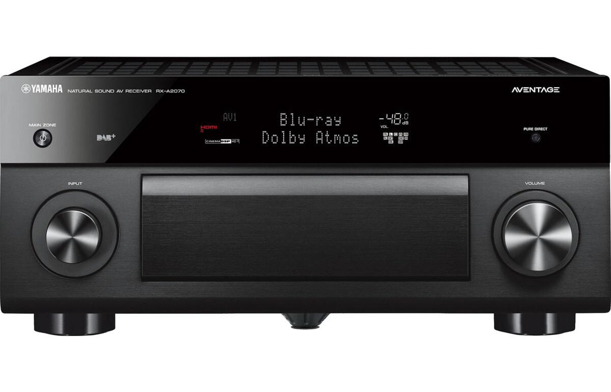 Yamaha MusicCast RX-A2070 Noir