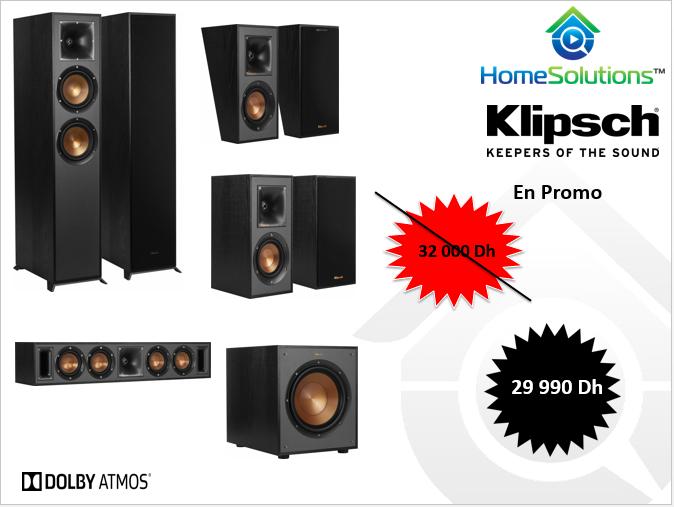Pack Enceinte Klipsch R620 HCS 7.1