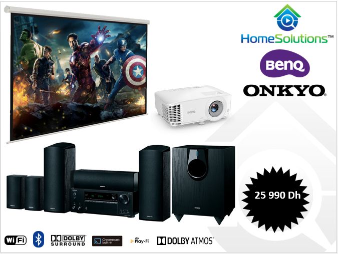 Pack Onkyo Dolby Atmos