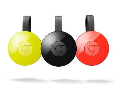 Passerelle Multimédia Google Chromecast 2