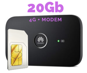 WIFI MODEM MIFI 20 GB