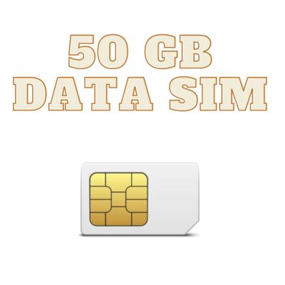 ONLY SIM 50 GB