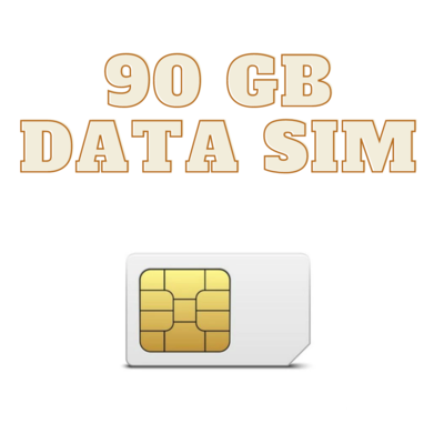 ONLY SIM 90 GB
