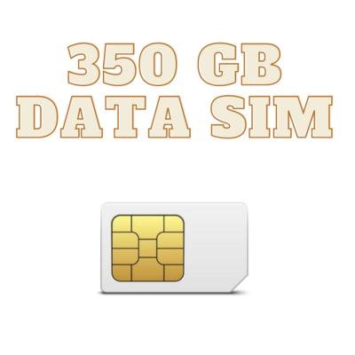 ONLY SIM 350 GB