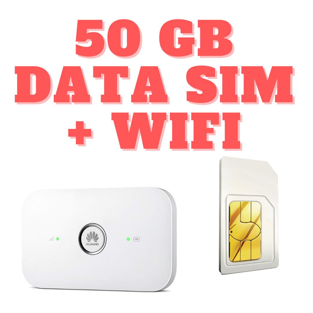 WIFI 50 GB
