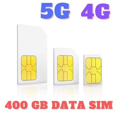 ONLY SIM 400 GB