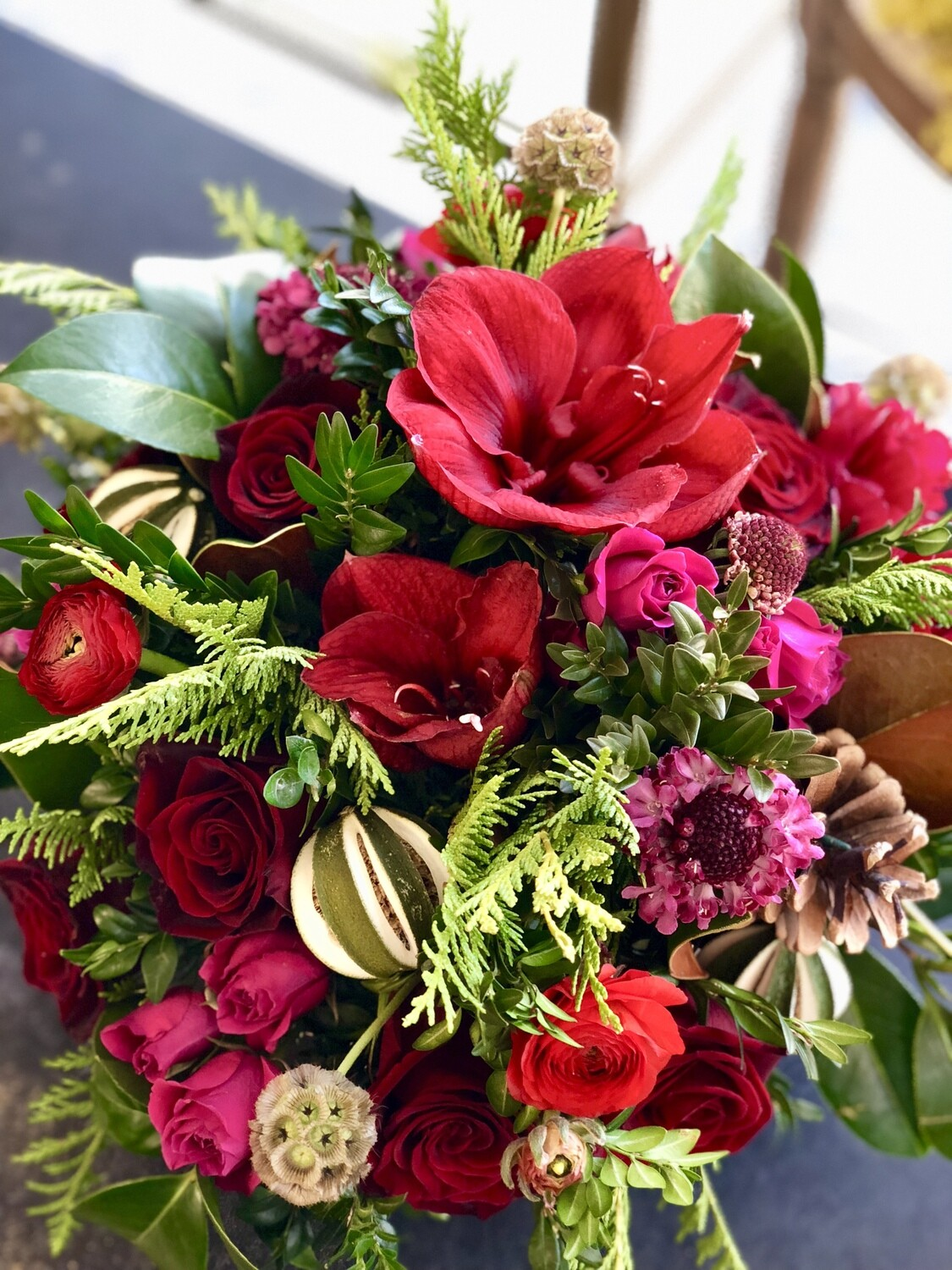 CHRISTMAS CENTERPIECE Workshop on 12/23/2020
