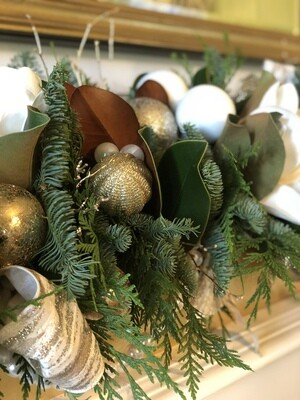 CHRISTMAS MANTEL Workshop on 12/9/2020