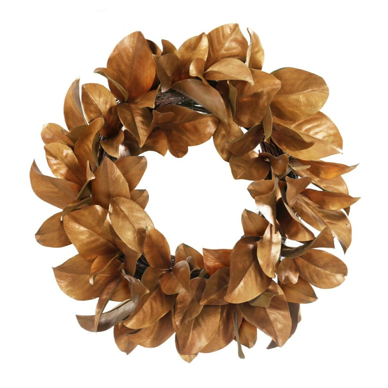 "Magnolia - Gold Leaf - 24"""