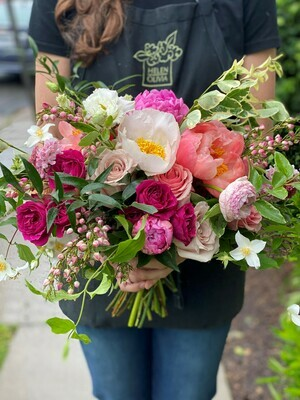 SPRING BRIDAL BOUQUET ON 6/16/2021