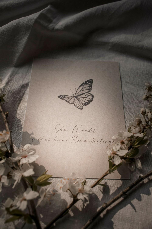 4er Affirmationskarten Set