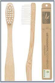 Go Bamboo Orthodontic Tooth Brush