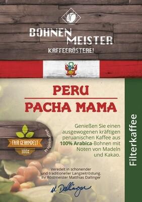 "Peru Pacha Mama Projektkaffee- ""fair-direkt-nachhaltig""- Röstkaffee"